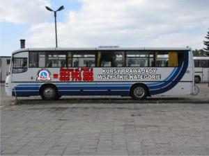 Nauka jazdy radom autobus