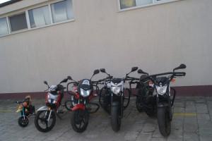 Nauka jazdy motocykl Medal
